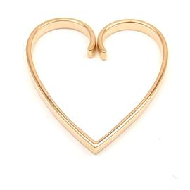 Cartier 18K Rose Gold Open Heart Pendant