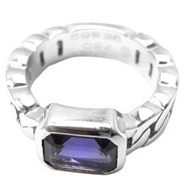 Chanel 18K White Gold Tanzanite Band Ring