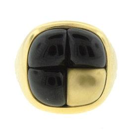Pomellato 18K Yellow Gold & Garnet Ring