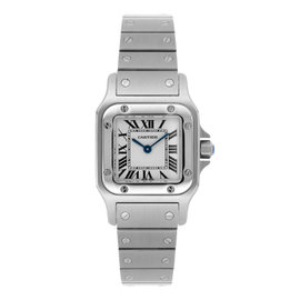 Cartier Santos Galbee W20056D6 Quartz Ladies Stainless Steel Watch