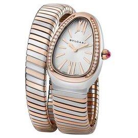 Bvlgari Bulgari Serpenti Tubogas SP35BSPGD.1T Steel & Rose Gold Watch
