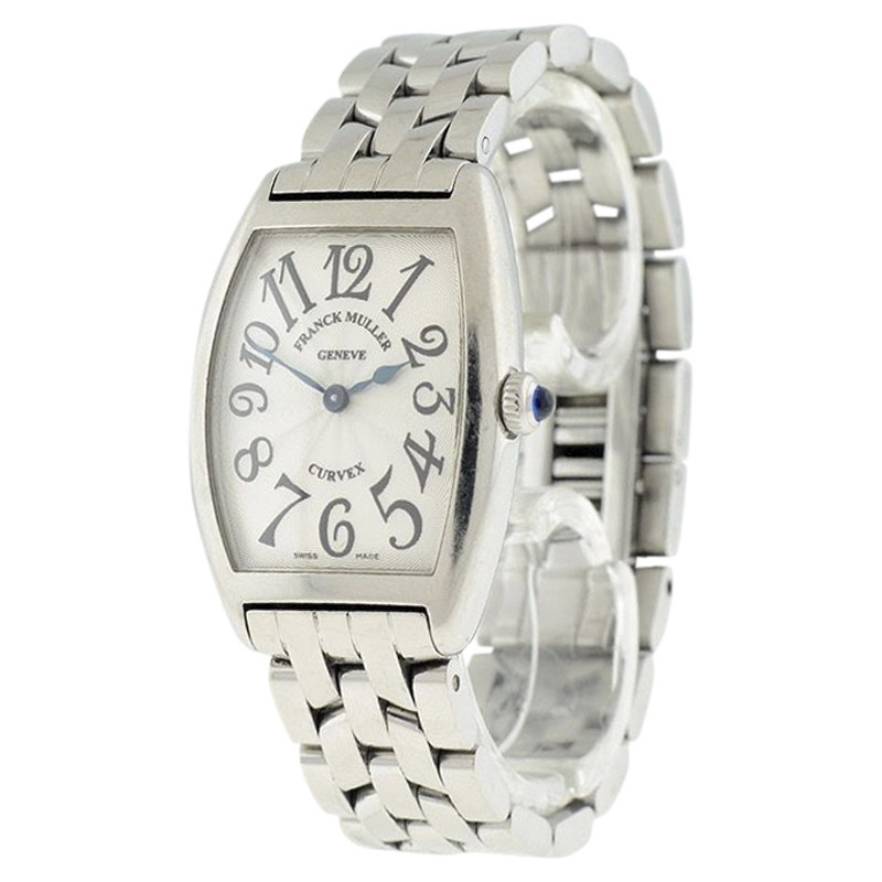 "Image of ""Franck Muller Cintree Curvex 1752Qz Stainless Steel Womens Watch"""