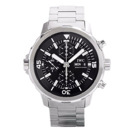 IWC IW376804 Aquatimer 44mm Automatic Chronograph Stainless Steel Watch