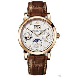 A. Lange & Sohne 310.032 Langematik Perpetual Rose Gold 38.5mm Watch