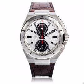 IWC Ingenieur Chronograph Silberfeil 378505 Stainless Steel 45mm Watch