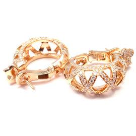 Pasquale Bruni Authentic C'EST MOI 18k Rose Gold Diamond Earrings