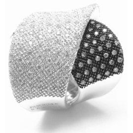 Pasquale Bruni Pave 18k White Gold Diamond Ring