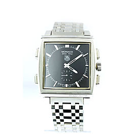 Tag Heuer Luxury Cw9110-0 Stainless Steel Mechanical Monaco Sixty-Nine Men Watch