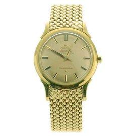 Omega Constellation 18k Yellow Gold Men's Watch 1960s