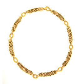 Van Cleef & Arpels 18k Yellow Gold & Diamond Necklace
