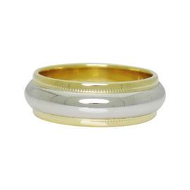 Tiffany & Co. Platinum & 18K Yellow Gold Wedding Band Ring