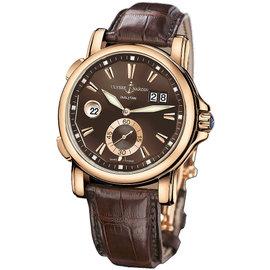 Ulysse Nardin 246-55/95 GMT Big Date 18K Rose Gold 42mm Watch