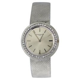 Vacheron Constantin Classique 18K White Gold 33mm Womens Vintage Watch