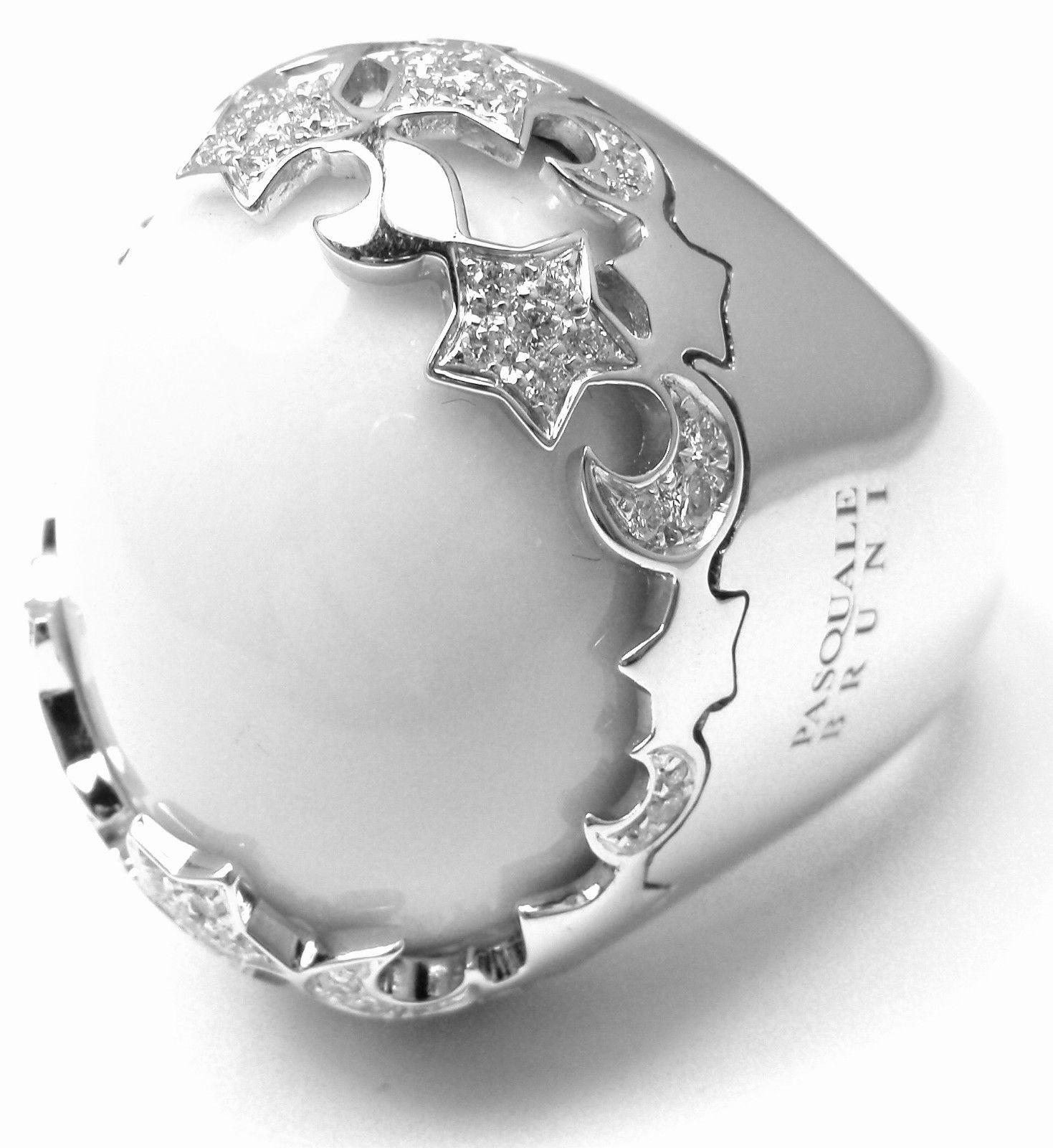 """""Pasquale Bruni 18K White Gold Diamond Ring"""""" 295401"