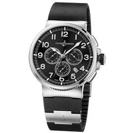 Ulysse Nardin 1503-150-3/62 Marine Chronograph 43mm Watch
