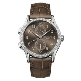 Patek Philippe Complications 7134G-001 18K White Gold Womens 35mm Watch