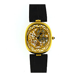 Patek Philippe 3880 Skeleton Golden Ellipse Watch