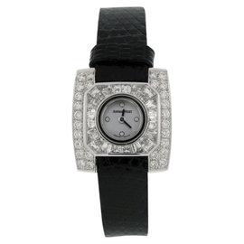 Audemars Piguet Classique 18K White Gold & Diamond 17mm Watch