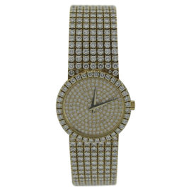 Piaget Classic 18K Yellow Gold With Diamonds 25mm Watch