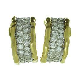 Van Cleef & Arpels Diamond 18K Yellow Gold Wrap Earrings