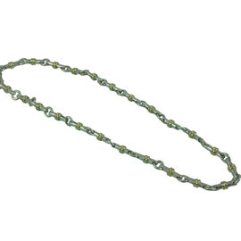 Tiffany & Co. 925 Sterling Silver and 18K Yellow Gold Link Necklace