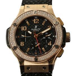 Hublot Big Bang Evolution 301.PB.131.RX 18K Rose Gold Diamond 44mm Watch