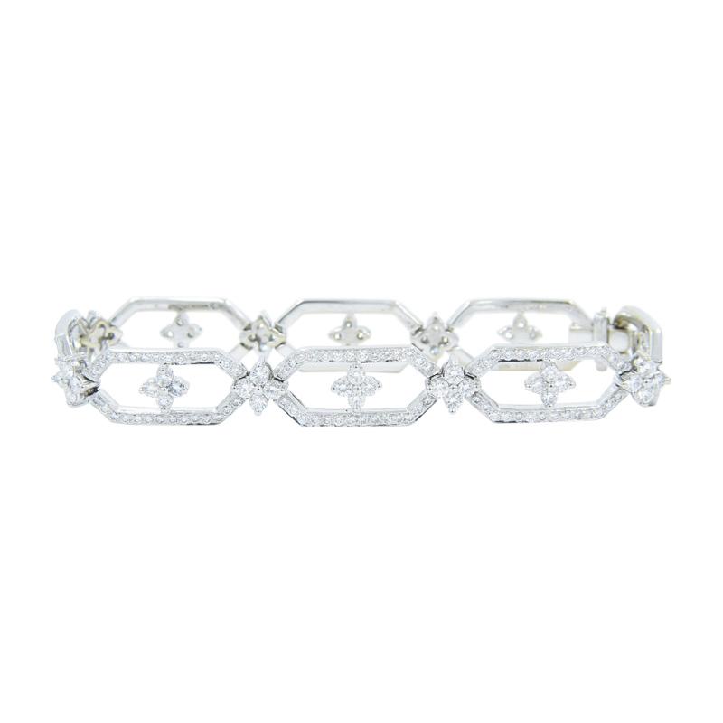 "Image of ""Kwiat 18K White Gold & Diamond Tennis Bracelet"""