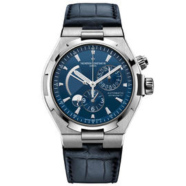 Vacheron Constantin 47450/000a-9039 Overseas Dual Time Blue 42.5mm Watch