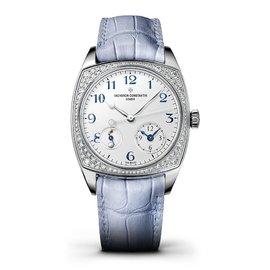 Vacheron Constantin 7805s/000g-b052 Harmony 18K White Gold Diamond 37mm x 46.6mm Watch