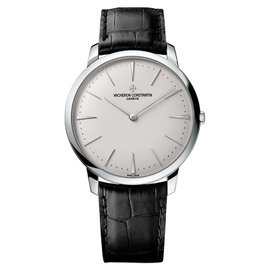 Vacheron Constantin 81180/000g-9117 Patrimony Grand Taille 18K White Gold 40mm Watch