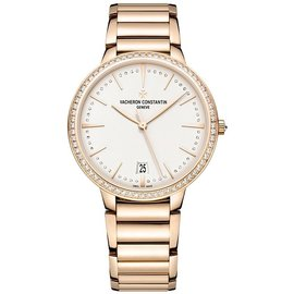 Vacheron Constantin 85515/ca1r-9840 Patrimony 18K Rose Gold 36.5mm Watch