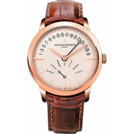 Vacheron Constantin 86020/000r-9239 Patrimony Bi-Retrograde 18K Rose Gold 42.5mm Watch