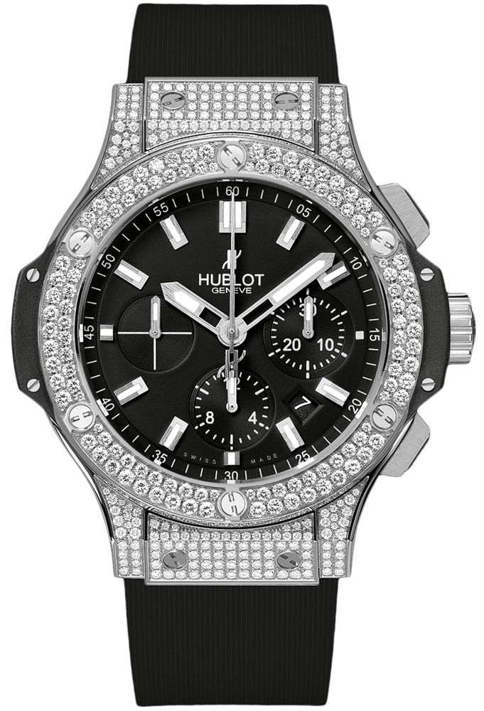 "Image of ""Hublot Big Bang 301.sx.1170.rx.1704 Stainless Steel & Diamonds 44mm"""