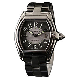 Cartier Roadster W62001V3 Large Stainless Steel Grey Automatic 37mm x 44mm Watch