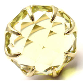 Ippolita Lollipop 18k Yellow Gold Extra Large Lemon Citrine Ring
