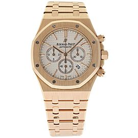 Audemars Piguet Royal Oak 26320OR.OO.1220OR.02 18k Rose Gold 41mm Watch