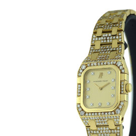 Audemars Piguet Classique 18K Yellow Gold 24mm x 32mm Womens Watch