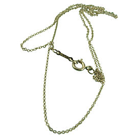 Tiffany & Co. 925 Sterling Silver Paloma Picasso Chain Necklace