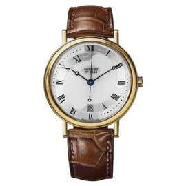 Breguet Classique 18K Yellow Gold 36mm Mens Watch
