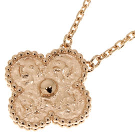 Van Cleef & Arpels 18K Rose Gold Necklace