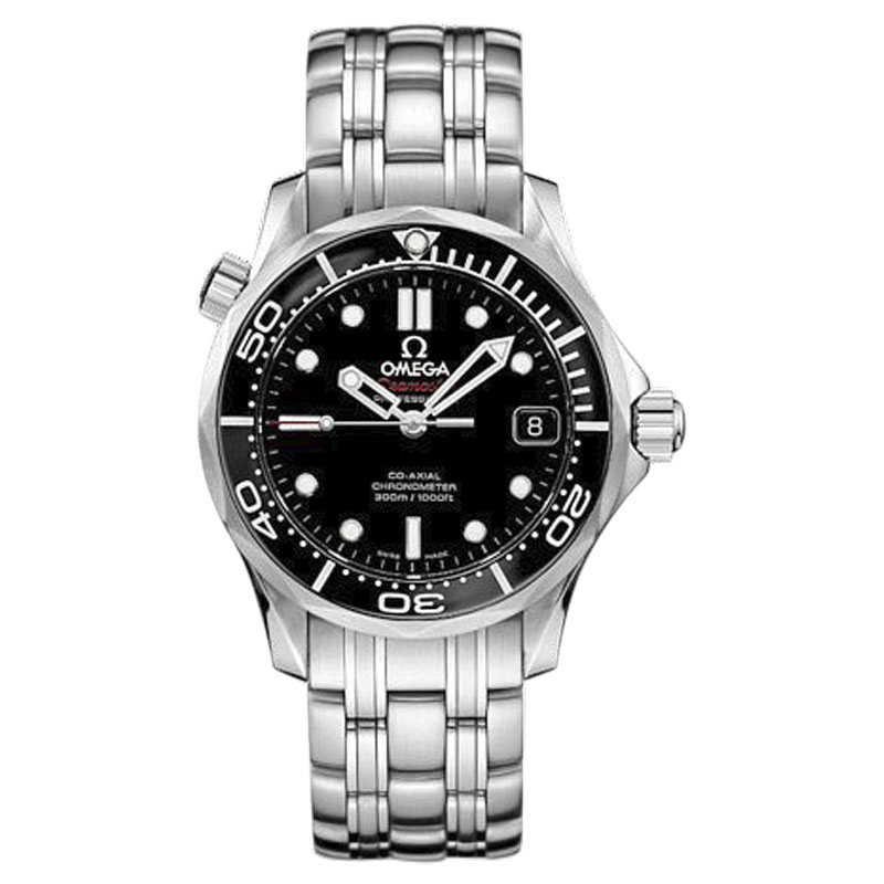 "Image of ""Omega Seamaster 212.30.36.20.01.002 Stainless Steel Black Dial"""