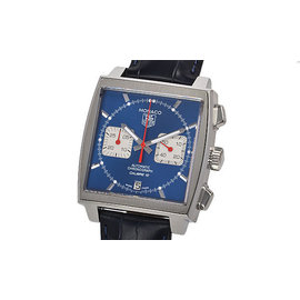 Tag Heuer Monaco CAW2111.FC6183 Stainless Steel & Leather Automatic 39mm Mens Watch