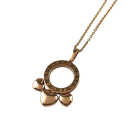 Bulgari 2005 Valentine 18k Rose Gold Pendant Necklace