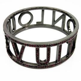 Louis Vuitton Swarovski Brass Bracelet