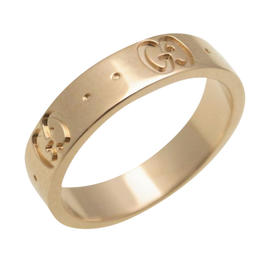 Gucci 18k Rose Gold Ring Size 4