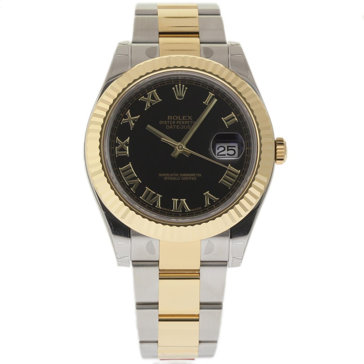 """Image of """"Rolex Datejust II 116333 Stainless Steel & 18K Yellow Gold 41mm Mens"""""""