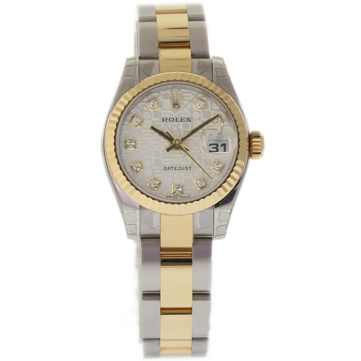 """Image of """"Rolex Datejust 179173 Stainless Steel and 18K Yellow Gold 26mm Womens"""""""