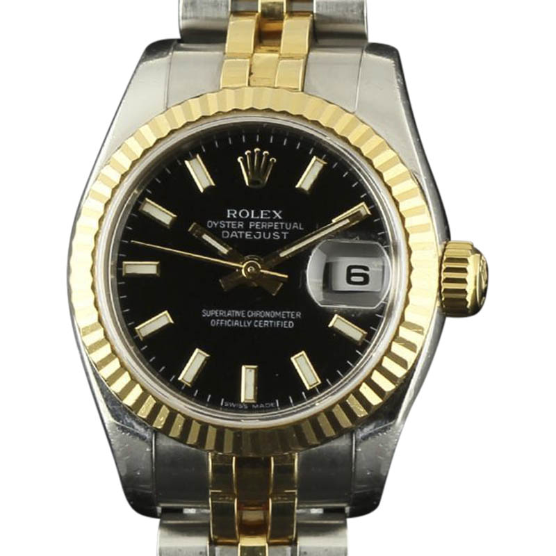 """Image of """"Rolex Datejust 179173 Stainless Steel and Yellow Gold 26mm Womens"""""""
