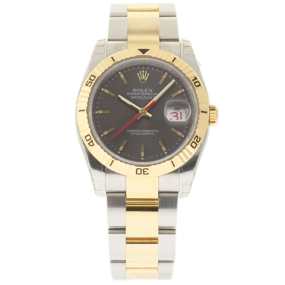 """Image of """"Rolex Datejust 116263 Stainless Steel & 18K Yellow Gold 36mm Mens"""""""