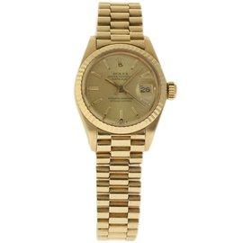 Rolex President 6917 18K Yellow Gold Vintage 26mm Womens Watch